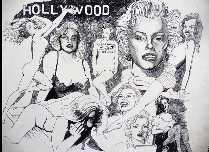Marilyn ink